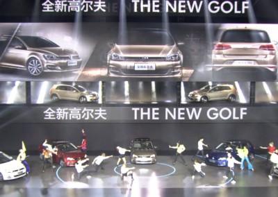 FAW VW – Golf 7, Markteinführung in China