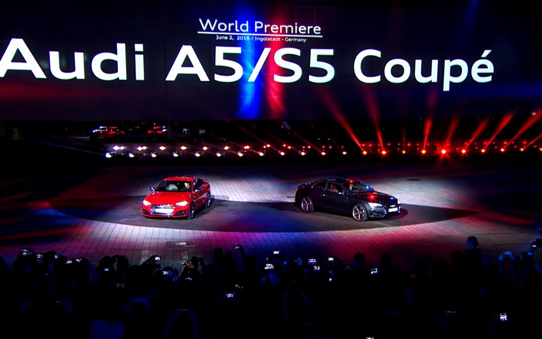 Weltpremiere Audi A5 und Audi S5 Coupé