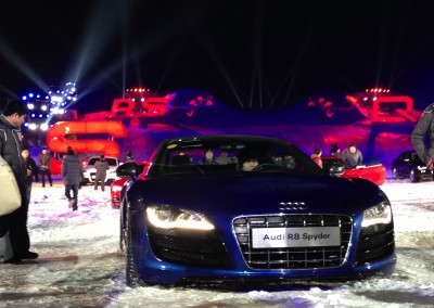 Audi Ice & Snow Festival, Changbaishan/China