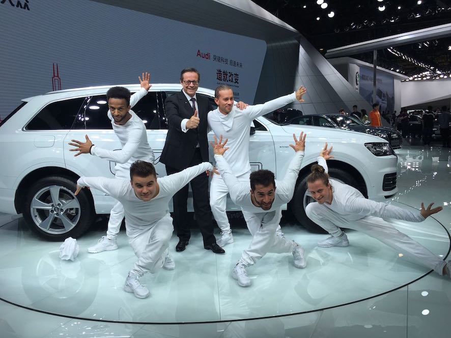AUDI Press conference at Guangzhou Motor Show 2016