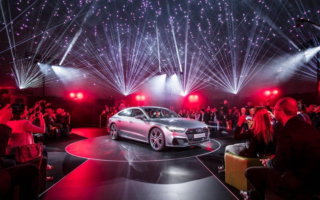 Weltpremiere des neuen AUDI A7 in Ingolstadt